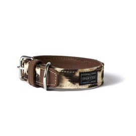 "HEAD PORTER - ""LEOPARD"" DOG COLLAR (M)"