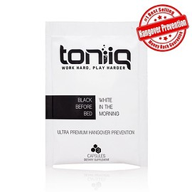 Toniiq Hangover Prevention Capsules - Toniiq Hangover Prevention Capsules