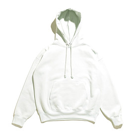 AURALEE - Baggy Polyester Sweat P/O Parka-Mint Green