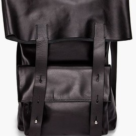 Phillip Lim - 3.1 Phillip Lim Leather Backpack in Black for Men, but also perfect for women who like it edgy!