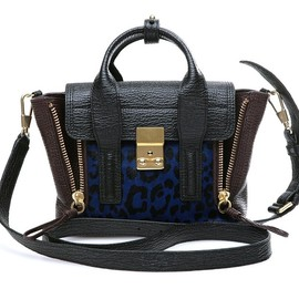 3.1 Phillip Lim - PASHLI MINI NAVY/CHOCOLATE