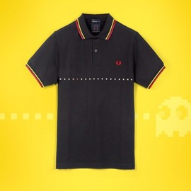 Fred Perry - PAC-MAN Printed Twin Tipped Shirt