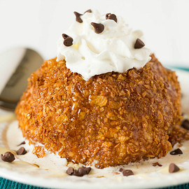 Brown Eyed Baker - Fried Ice Cream