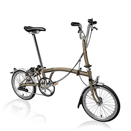BROMPTON - S2LX Raw Lacquer
