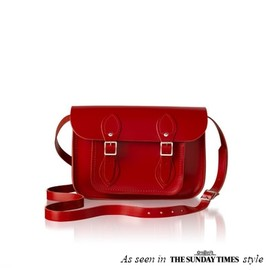 Cambridge Satchel - Classic red 11""