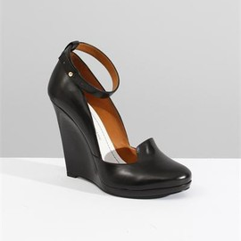 Christophe Lemaire - Wedge Sandals- Black
