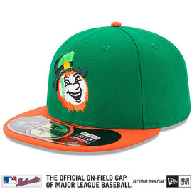 NEWERA - New York Mets 2014 Authentic Collection St. Patrick's Day On-Field 59FIFTY Game Cap
