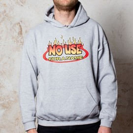 No Use For A Name - Flame Logo Hooded Sweater