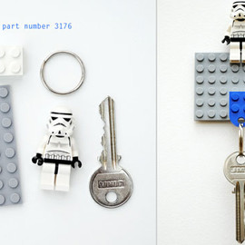 Lego - DIY Lego Key Holder