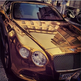 Bentley - gold.