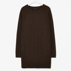 COS - cable knit jumper