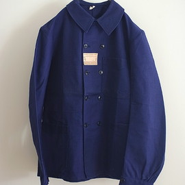 LILY1ST VINTAGE - 1940'S DEADSTOCK FRENCH DOUBLE WORK COVERALL(SIZE42)