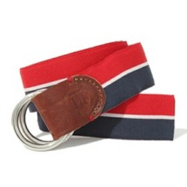 TOMMY HILFIGER - BOSTON STRIPE BELT