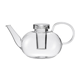 Wagenfeld - Wagenfeld Teapot With Lid clear, tabletop, wilhelm wagenfeld