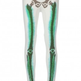 Bernhard Willhelm - ''Reloaded' legging white 1