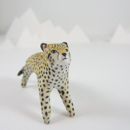 HandyMaiden - Cheetah figurine totem animal