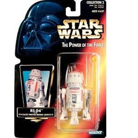 kenner - STAR WARS: Power of the Force Red Card > R5-D4 Action Figure: Toys & Games (Imported)