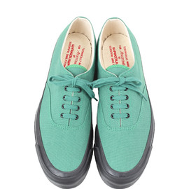 KELLY GREEN with BLACK SOLE