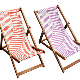 Fergus Purcell x Bored of Southsea - deck chairs