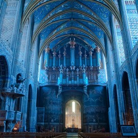 Albi, France - Saint Cecil Cathedral