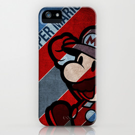 "society6 - iPhone5 case ""SUPER MARIO"""