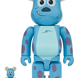 MEDICOM TOY - BE@RBRICK SULLEY 100% & 400%