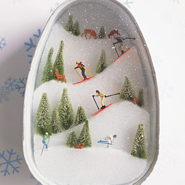 Martha Stewart's Crafts - Ski Slopes Diorama