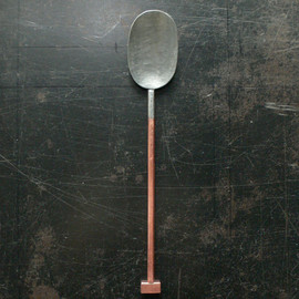 Yumi Nakamura - Copper & Brass Hammered Spoon (process from the Yayoi Period, 300BC-300AD)
