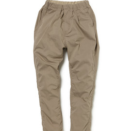 nonnative - EXPLORER EASY RIB PANTS C/P TYPEWRITER (BEIGE)