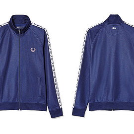 STUSSY, FRED PERRY - Track Jacket