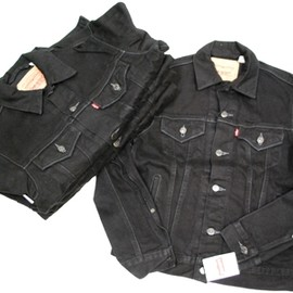 Levi's - Jean Jacket Super Black