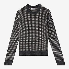 TEDDY VONRANSON - Norwegian Fisherman Sweater,Grey Multi  –  Classic fit