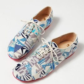 mintdesigns - 【ANREALAGE×mintdesigns】 PATCHWORK SHOES