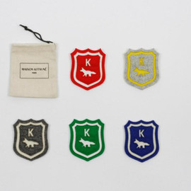 KITSUNÉ × Olympia Le-Tan - Medium size selection of blazons