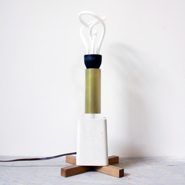 sight unseen - scrap lamp/ jonah takagi