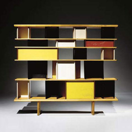 "Charlotte Perriand - ""Mexico"" bookcase"