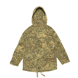 ENGINEERED GARMENTS - Field Parka-Camo Nyco Ripstop-Brown