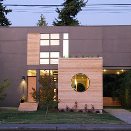 Greenwood House Details Compact And Visually Uncluttered Home in Seattle