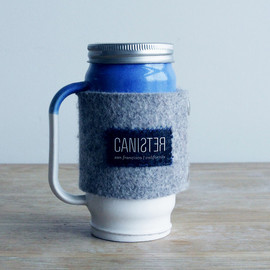Canister - Steep - ceramic mag/canister