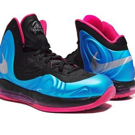 NIKE - NIKE AIR MAX HYPERPOSITE DYNAMIC BLUE/REFLECTIVE SILVER-FIREBERRY