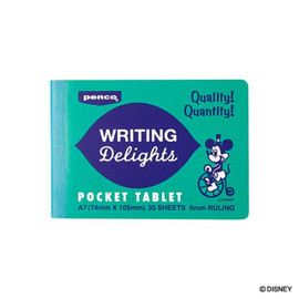 PENCO - Writing Delights Disney Pocket Tablet Notebook