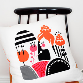 Darling Clementine - Woodland Cushions / FLORA'S FIELDS