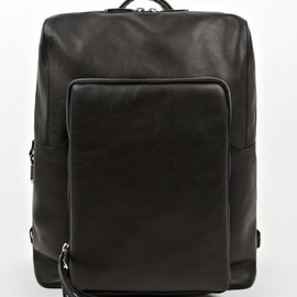 Maison Martin Margiela - 11 Black Leather Rucksack