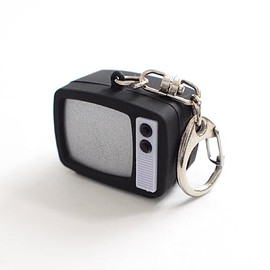 KIKKERLAND - LED KEYRING RETRO TV