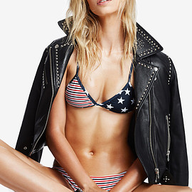 Nasty Gal - Nasty Gal Who's That Girl Studded Leather Jacket