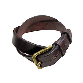 JABEZ CLIFF - SADLE LEATHER BELT