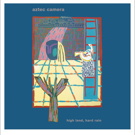 "Aztec Camera - High Land, Hard Rain. Gatefold LP And 7"" EP, With Limited Edition Giclee Print of LP Cover."
