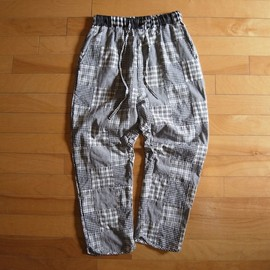 """bukht - PATCHWORK EASY PANTS """"WHITE"""""""