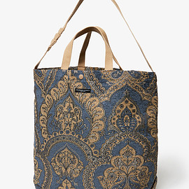 ENGINEERED GARMENTS - CARRY ALL TOTE / RUG JACQUARD SHOULDER BAGS