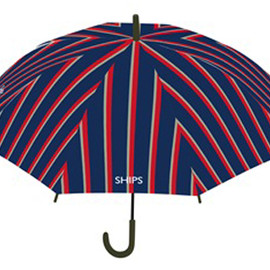 SHIPS - UMBRELLA [REGIMENTAL STRIPE]